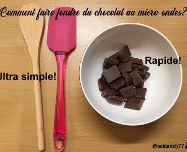 Comment faire fondre le chocolat noir au Micro-ondes ?
