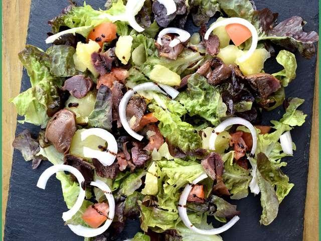 Comment manger de la salade ?