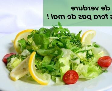 Quand Faut-il manger de la salade ?