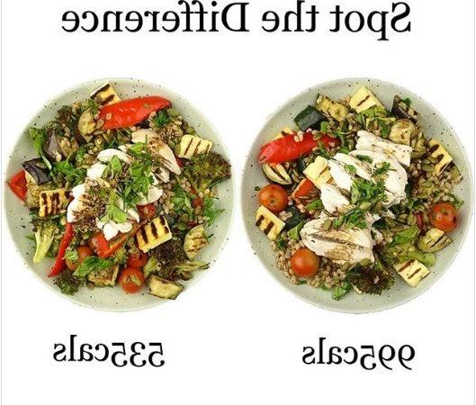 Quelle est la salade la moins calorique ?